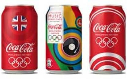 Aur pentru Coca-Cola la Jocurile Olimpice