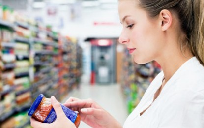 Chiar ne interesează informațiile referitoare la sănătate de pe etichetele produselor alimentare?