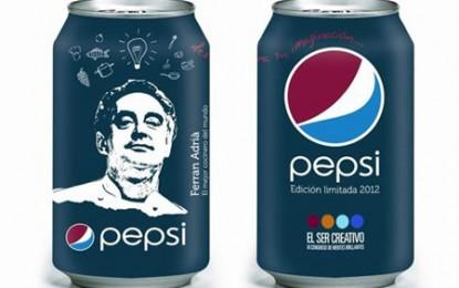 Pepsi, Ferran Adria și Congresul Minților Strălucite