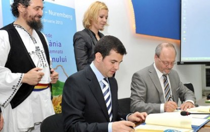 România este oficial Țara Anului la Biofach 2013