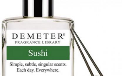 V-ar interesa o apă de colonie cu aromă de sushi?