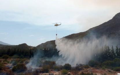 Un incendiu devastator amenință viile din Africa de Sud