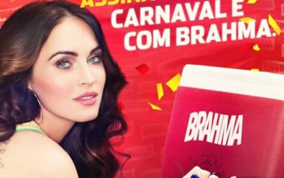 Megan Fox promovează berea Brahma