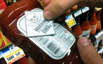 În SUA se încinge lupta pentru menționarea pe etichete a OMG-urilor