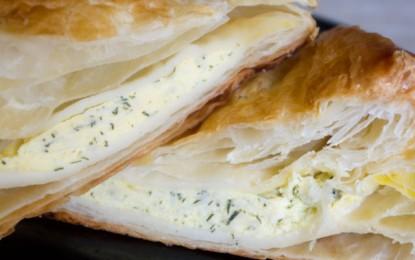 Pateuri cu brânză (și verdeață)