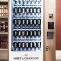 Distribuitor automat de șampanie Moet Chandon