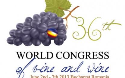 A început, la București, cel de-al XXXVI-lea Congres al OIV