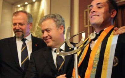 The Best Sommelier in the World 2013 este italianul Luca Martini